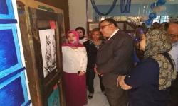افتتاح المعرض الـ 15 لطالبات المدن الجامعية
